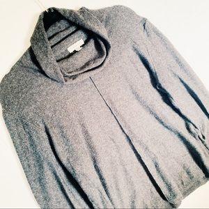 CALVIN KLEIN | XL gray cowl neck sweater